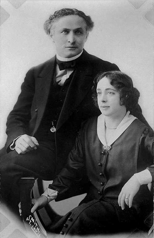 houdini & wife bess