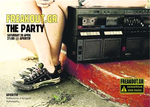 freakout party 20 apr